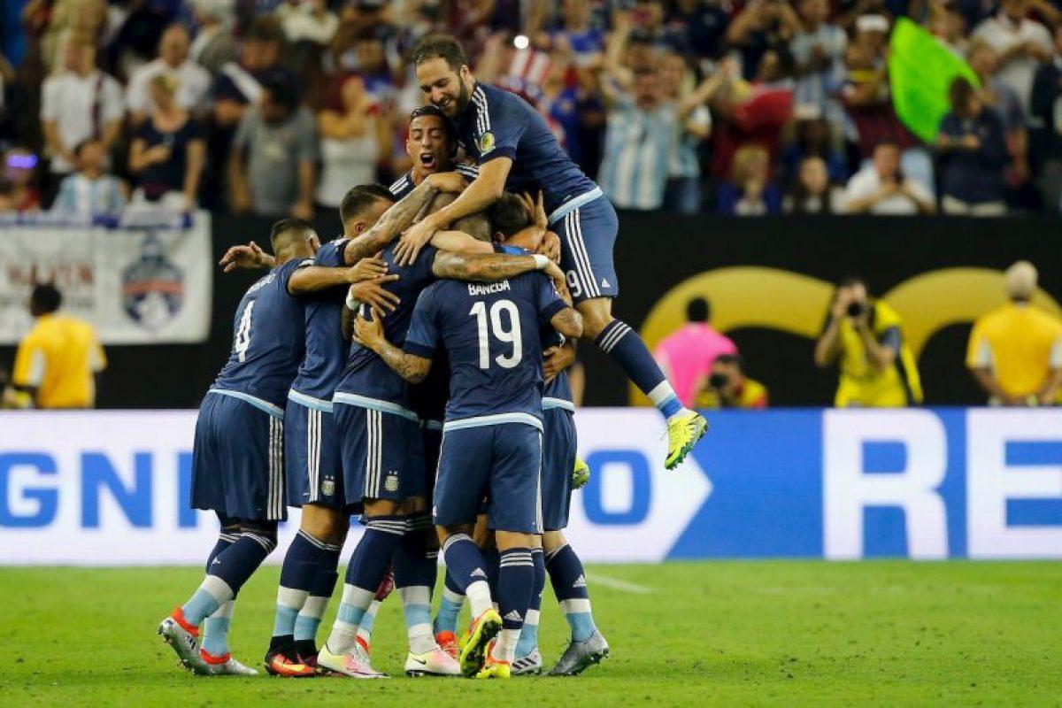 Argentina llega a la final de la Copa América Centenario tras vencer por 4 a 0 a Estados Unidos Foto:Getty Images. Imagen Por: