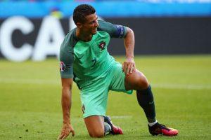 Cristiano Ronaldo disparó 32 veces al arco en la fase de grupos, pero convirtió 'sólo' tres goles Foto:Getty Images. Imagen Por: