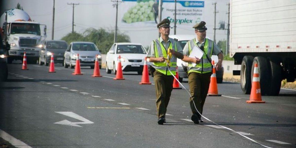 Fin de semana largo: 5 fallecidos por accidentes a nivel nacional