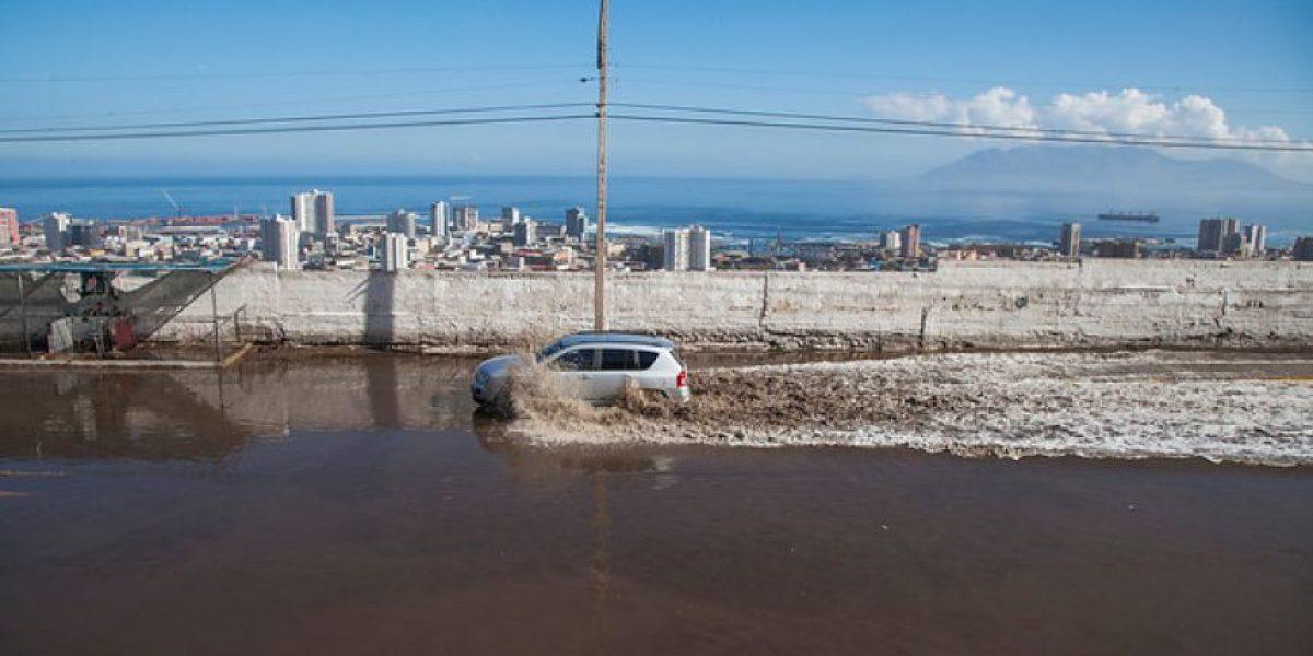 Núcleo frío en altura del norte del país se desplazó a territorio argentino