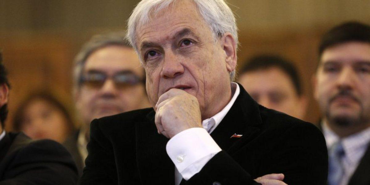 """Piñera critica gestión de Bachelet: """"Este gobierno nos está conduciendo por el camino equivocado"""""""