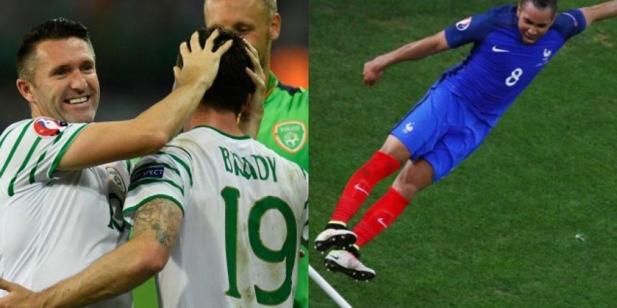 Eurocopa octavos de final: En vivo Francia vs Irlanda