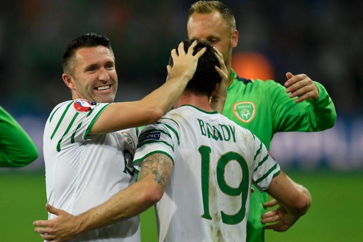 Irlanda ya viene de sorprender a Italia y ahora espera hacer lo mismo ante Francia Foto:Getty Images. Imagen Por: