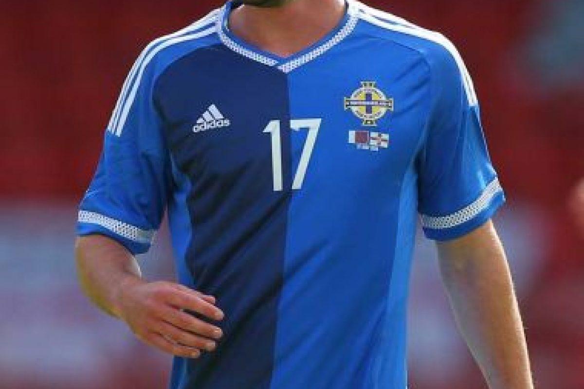 Will Grigg es un personaje de culto de la Eurocopa 2016. Foto:Getty Images. Imagen Por: