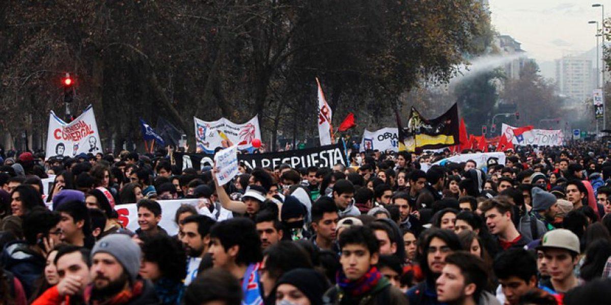 Confech anuncia nueva marcha nacional y emplazamiento a rectores a