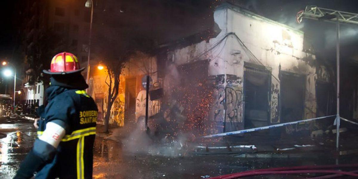 Dos niños de 7 y 9 años murieron en incendio en Conchalí