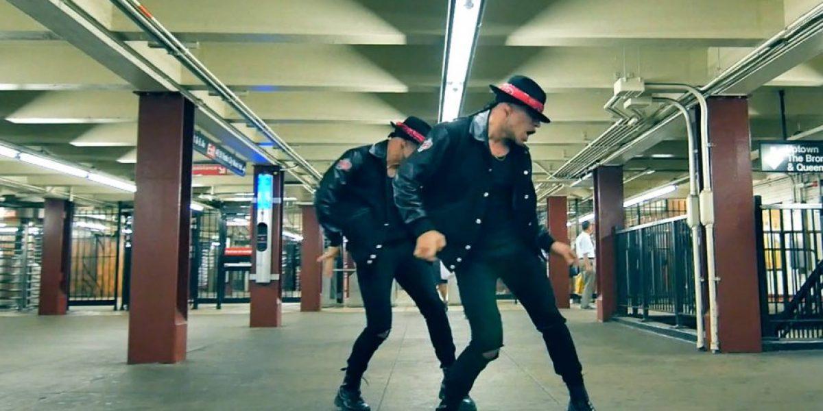 Power Peralta rindió homenaje a Michael Jackson en metro de Nueva York