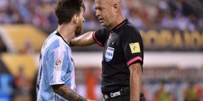 El show aparte del árbitro de la final de la Copa América