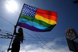 También es común encontrar a personas heterosexuales que apoyan la búsqueda de los derechos de la comunidad. Foto:Getty Images. Imagen Por: