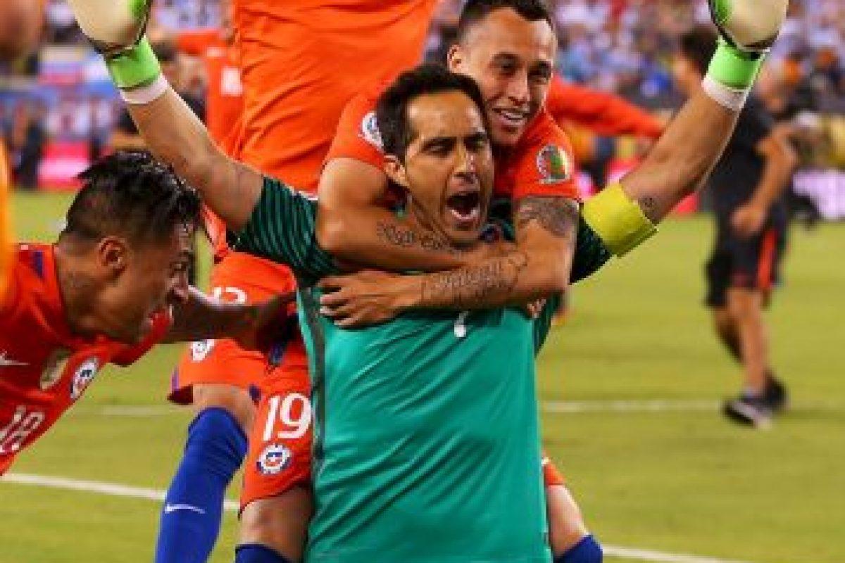 Chile es bicampeón continental. Imagen Por: