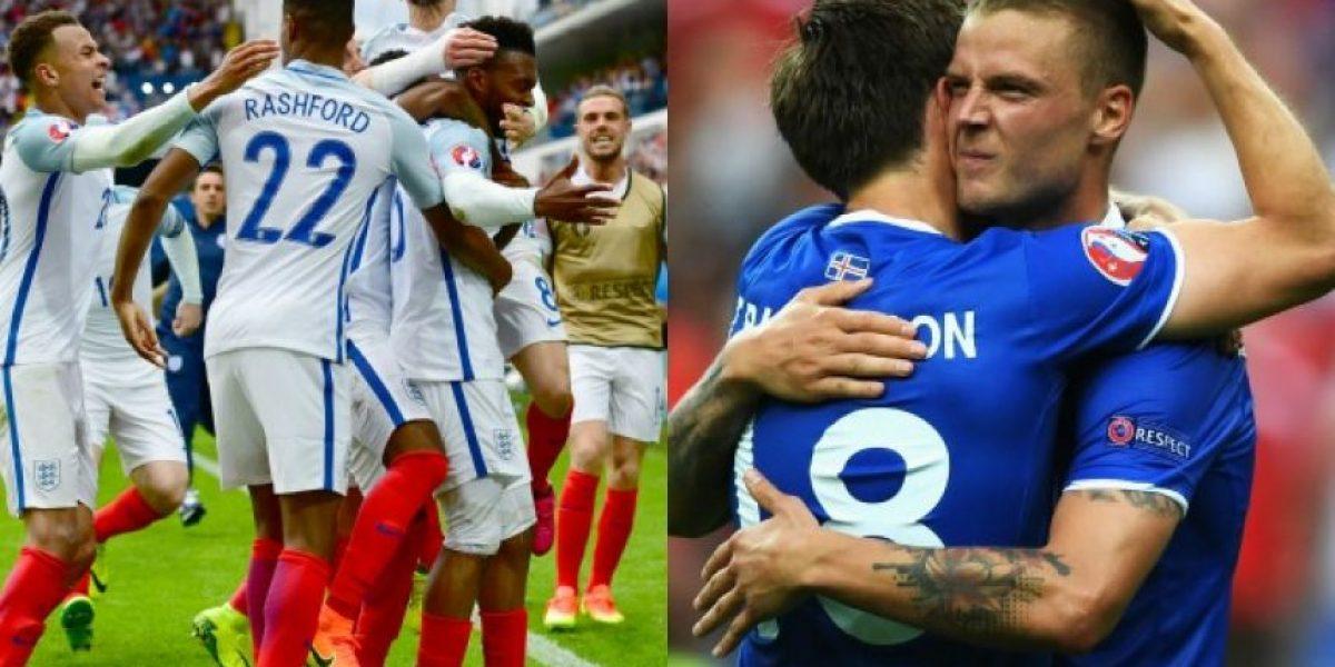 Eurocopa octavos de final: En vivo Inglaterra vs Islandia
