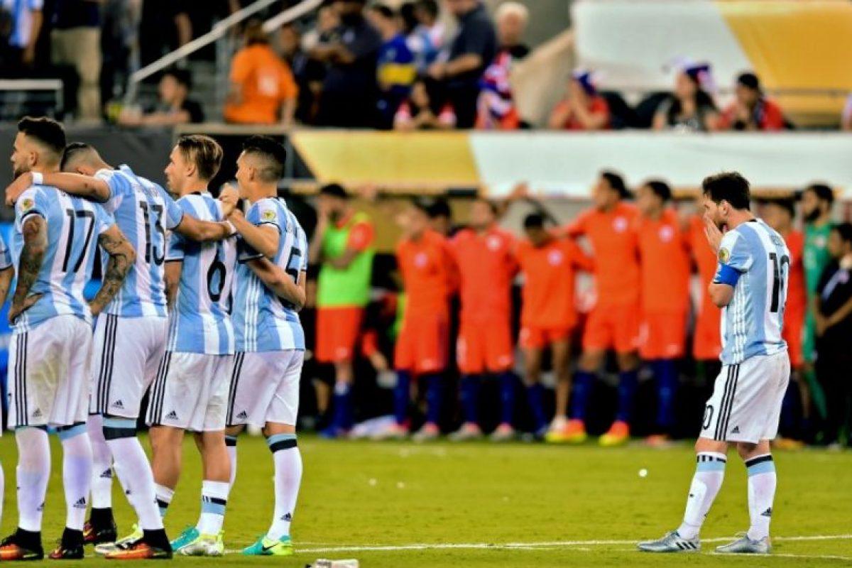 Lionel Messi perdió la Copa América 2007, Brasil 2014, Copa América 2015 y Copa Centenario Foto:AFP. Imagen Por: