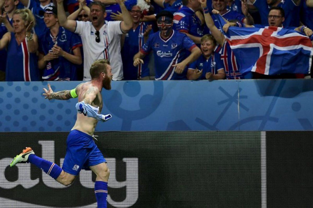 Islandia venció a Inglaterra en octavos de final de la Euro 2016 Foto:Getty Images. Imagen Por: