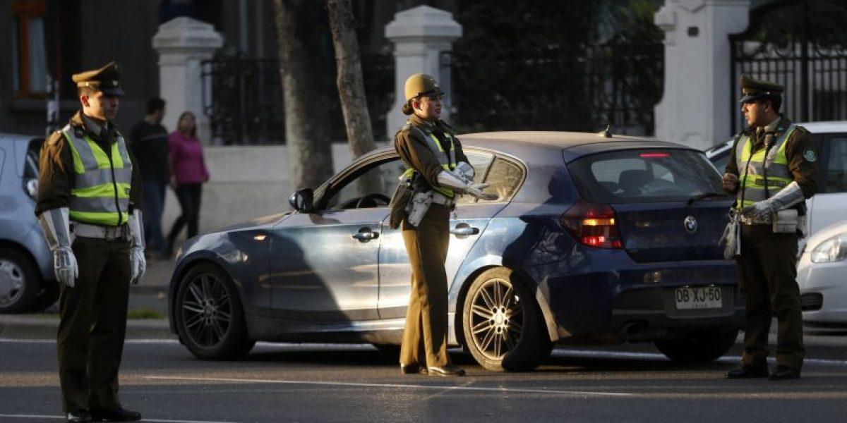 Más de 300 conductores fueron multados por no respetar restricción durante emergencia