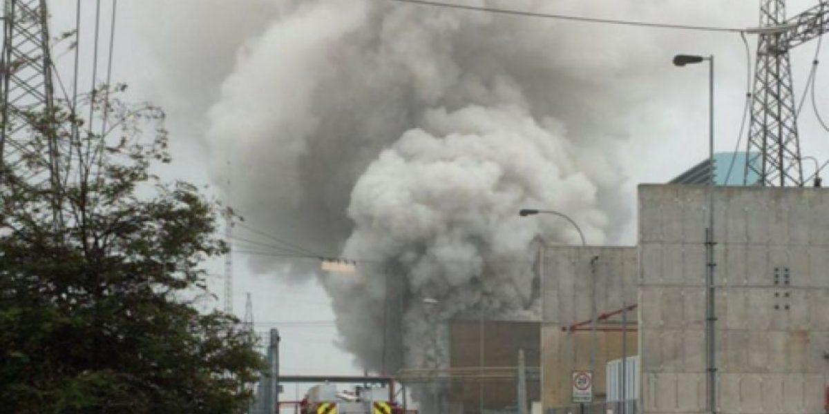 Controlan incendio en central termoeléctrica Nehuenco en Quillota