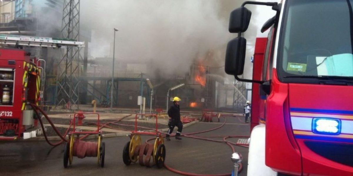 Colbún e incendio en central Nehuenco: