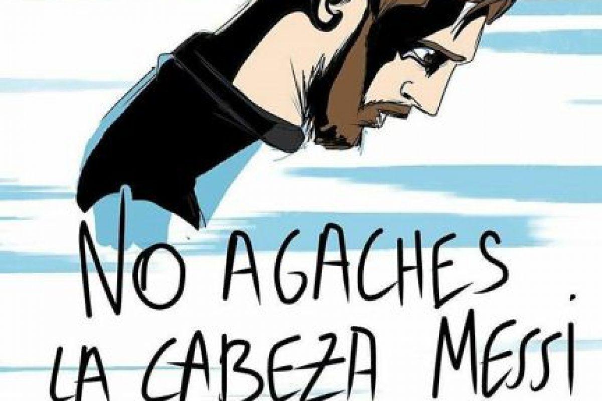 Hubo quienes hicieron caricaturas Foto:Twitter.com. Imagen Por: