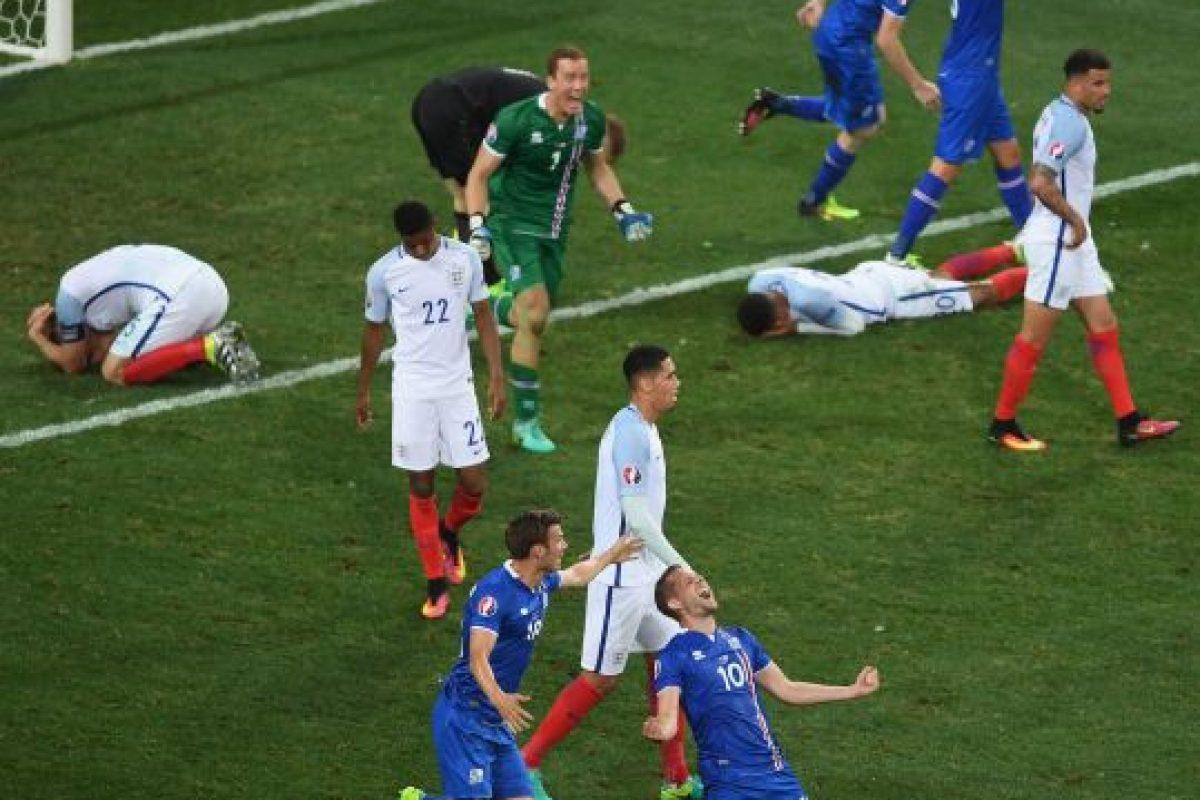 Lo de Islandia ya es histórico y ahora esperan seguir sorprendiendo en el duelo por cuartos ante el local, Francia Foto:Getty Images. Imagen Por: