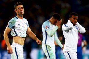 Inglaterra cayó por 2 a 1 ante Islandia en los octavos de final de la Eurocopa Foto:Getty Images. Imagen Por: