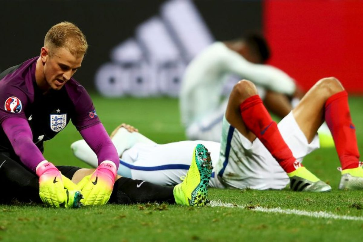 Los ingleses fueron sorprendidos por la sorprendente selección debutante, lo que provocó la rabia de la prensa inglesa Foto:Getty Images. Imagen Por: