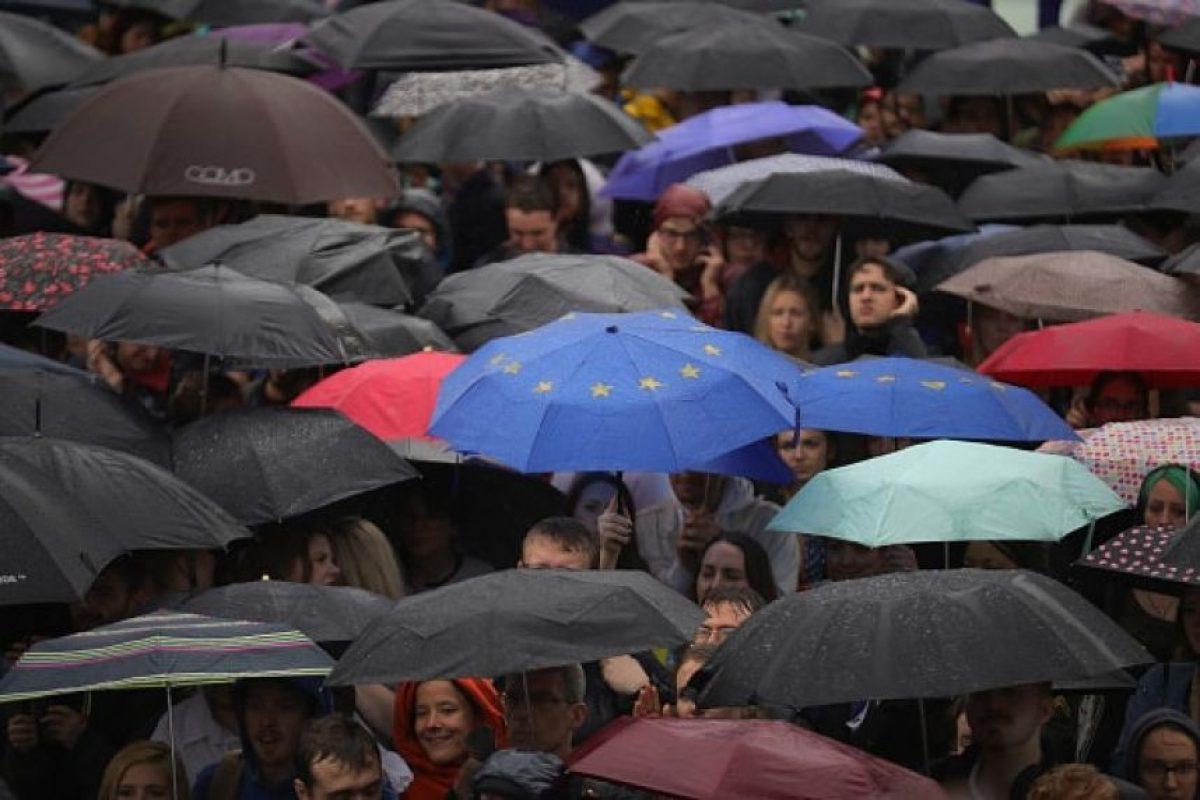 """Miles de jóvenes británicos se manifestaron contra el """"Brexit"""" Foto:Getty Images. Imagen Por:"""