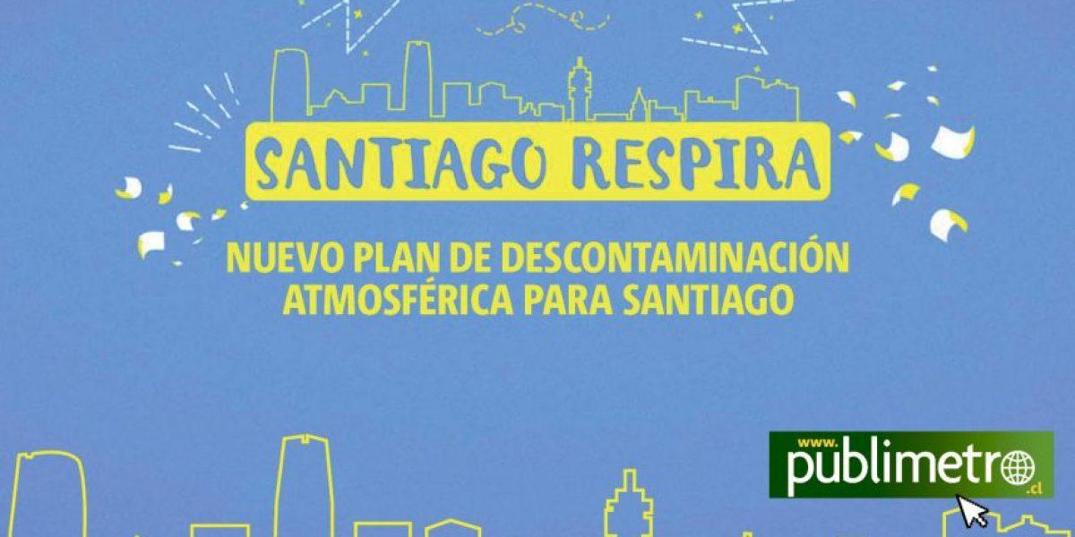 Infografía: Santiago respira