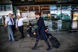 El aeropuerto volvió a operar unas horas después Foto:AFP. Imagen Por: