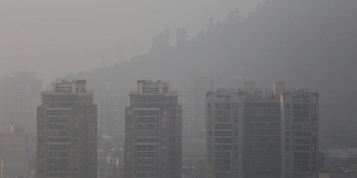 Diputado DC propone adelantar las vacaciones de invierno por la contaminación