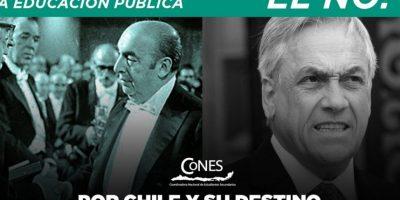 Con Piñera y Neruda incluido: Cones lanza campaña para contrastar educación pública y privada