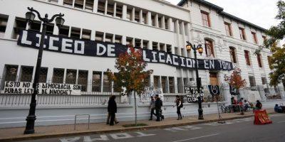 Liceo de Aplicación pierde al 7.4% de sus alumnos por tomas