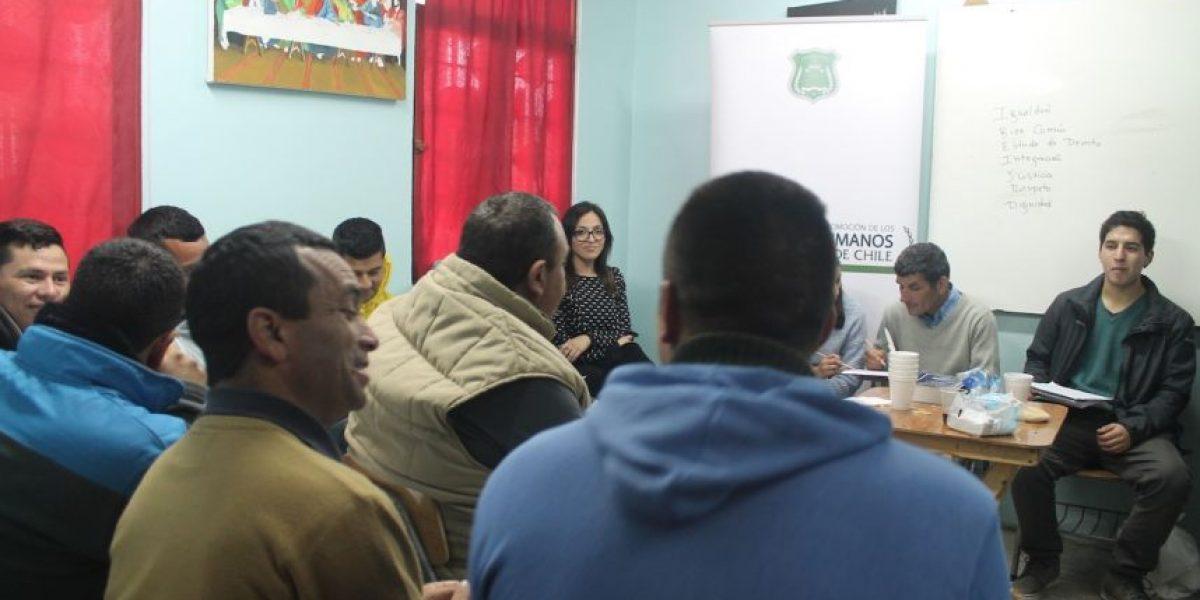 Proceso Constituyente: cárcel de Valparaíso albergó dos encuentros locales