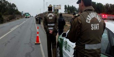 Talagante: Carabineros arresta a banda que robó camión de papas fritas