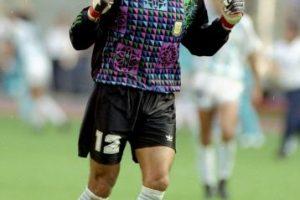 No es el primer arquero cabalero y Sergio Goycoechea se hizo famoso por orinar la cancha antes de la tanda de penales en el Mundial 1990 ante Italia, la que Argentina la terminó ganando Foto:Getty Images. Imagen Por: