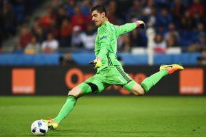 ¿Repetirá el gesto en el partido ante Gales? Foto:Getty Images. Imagen Por: