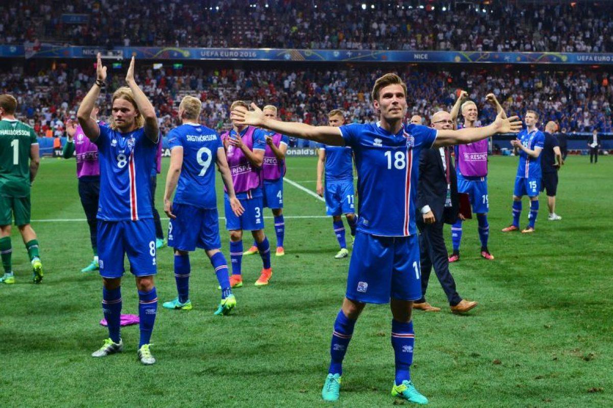 Islandia dio la sorpresa Foto:Getty Images. Imagen Por: