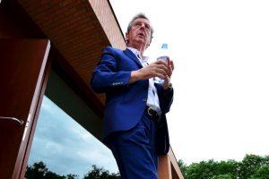 Luego de la derrota, Roy Hodgson renunció a su cargo de entrenador Foto:Getty Images. Imagen Por: