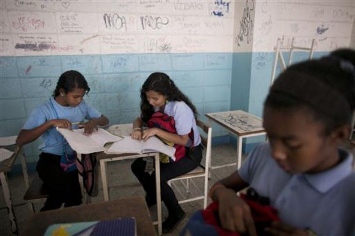 Además de las condiciones en las que se encuentran las instalaciones educativas en el país Foto:AP. Imagen Por: