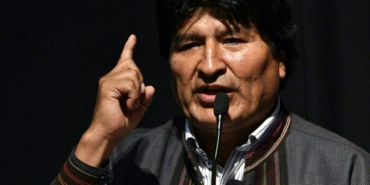 Evo Morales acusa a CNN de ser parte de una