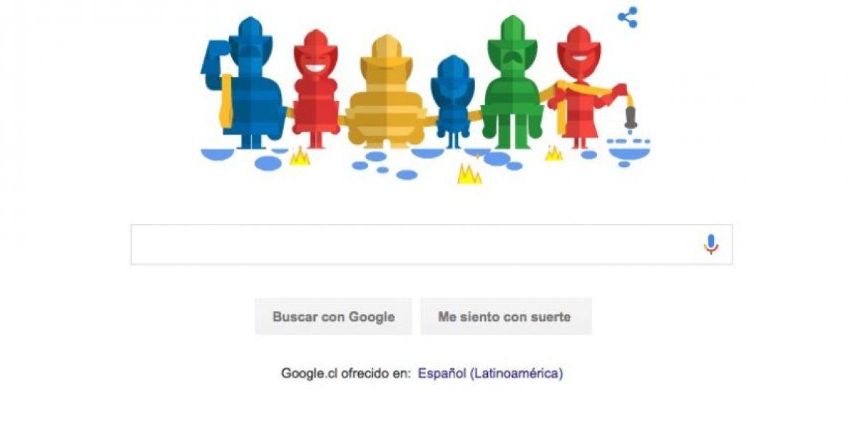 ¡Felicidades! Con este doodle Google saludó a los Bomberos de Chile