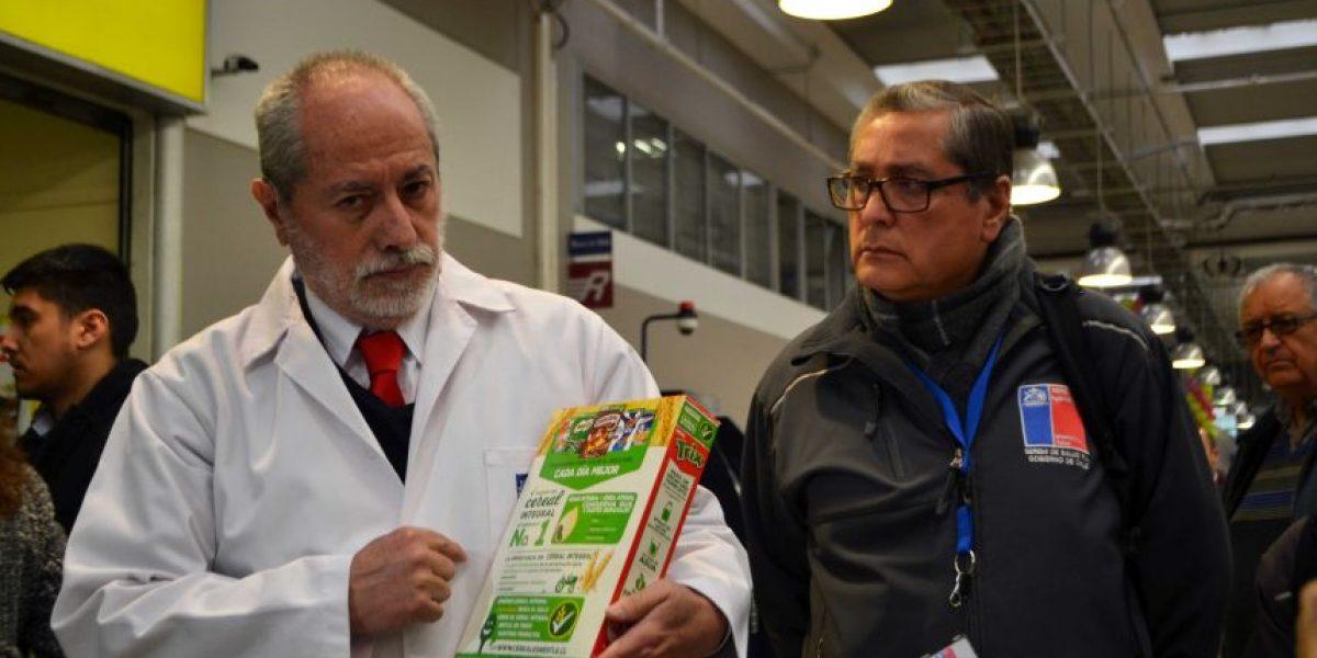 Seremi de Salud Metropolitana verifica cumplimiento de Ley de Etiquetado de Alimentos