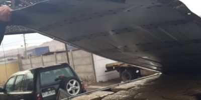 En el techo del auto pareja intentó sacar cargamento de marihuana desde Iquique