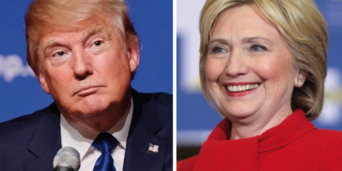 Clinton y Trump casi empatados en un nuevo sondeo electoral