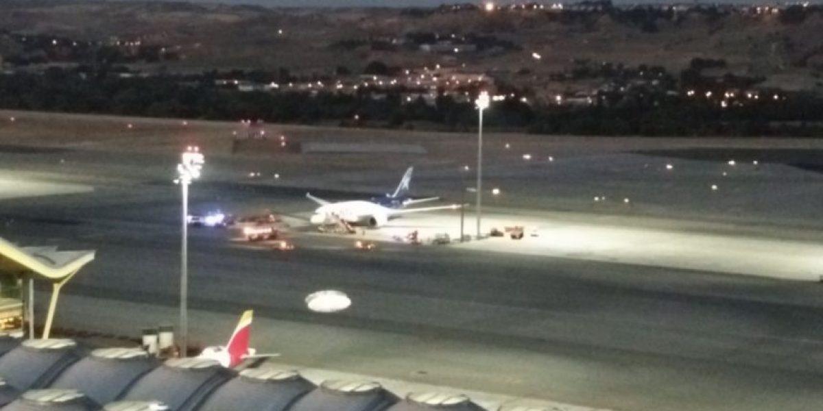 Avión de Latam aterriza de emergencia en Madrid por posible presencia de gases en bodega