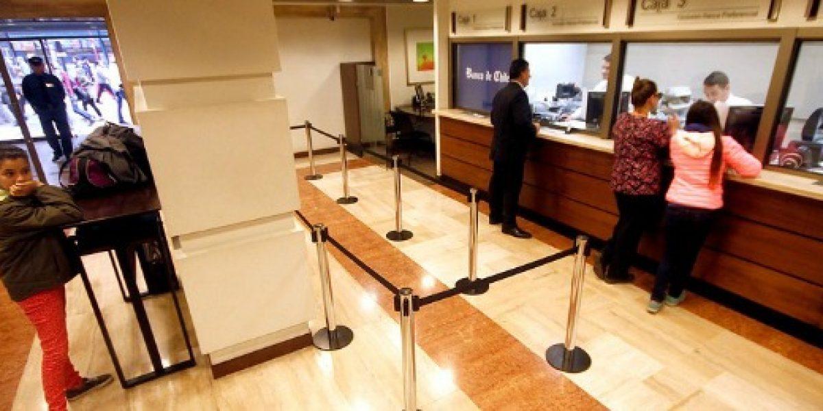 Utilidades de bancos retroceden más de 8% entre enero y mayo
