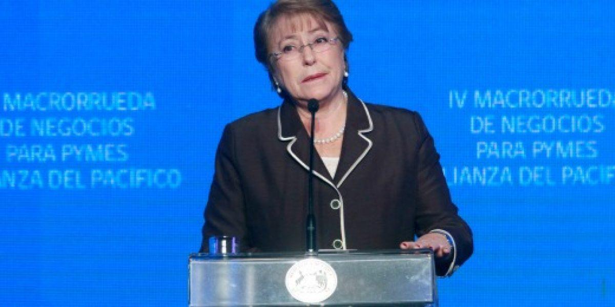 "Michelle Bachelet: ""Integrarnos nos ha hecho bien"""