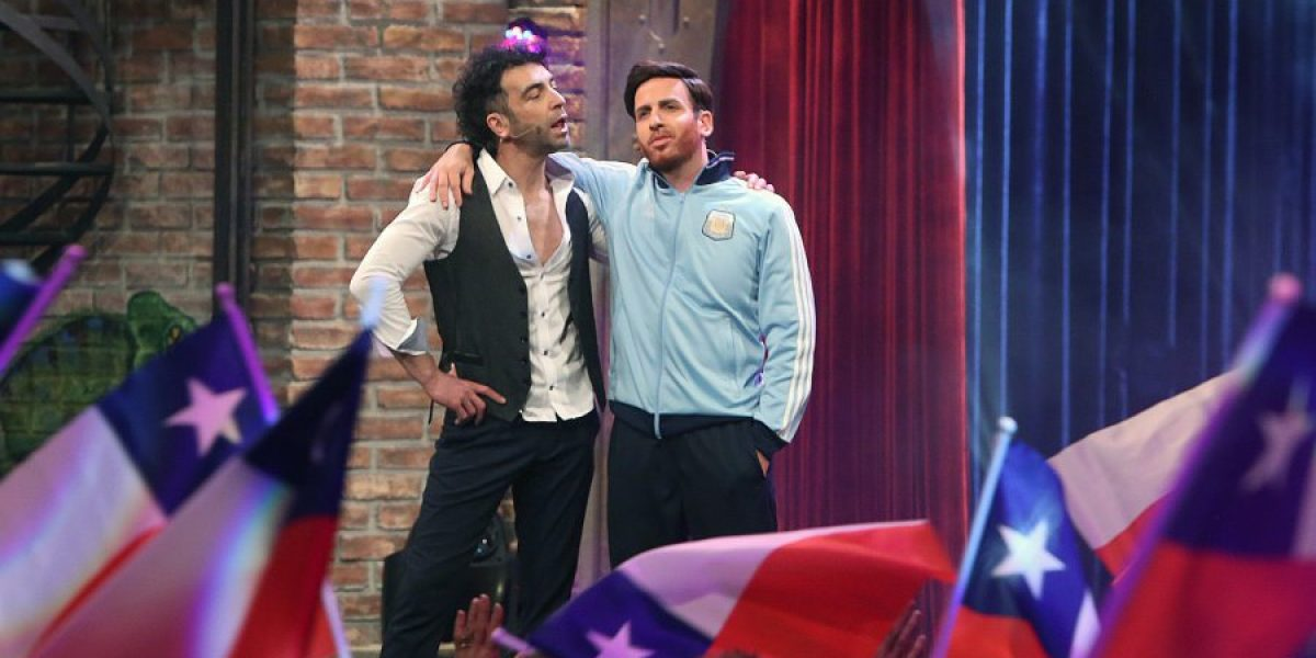 Fotos: Así se verá Kramer como Messi y Claudio Palma en