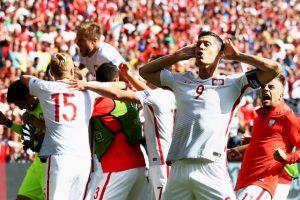 Polonia llegó a cuartos tras derrotar a Suiza en penales Foto:Getty Images. Imagen Por:
