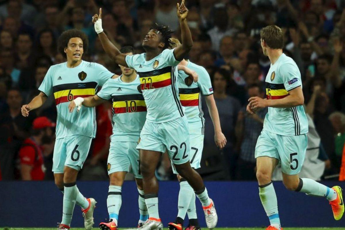 Bélgica demostró en octavos sus credenciales y goleó por 4 a 0 a Hungría Foto:Getty Images. Imagen Por: