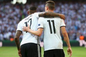 Alemania, en tanto, también está demostrando su condición de candidato y goleó a Eslovaquia por 3 a 0 Foto:Getty Images. Imagen Por: