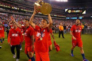 Chile ganó la Copa América Centenario tras vencer en los penales a Argentina Foto:Getty Images. Imagen Por:
